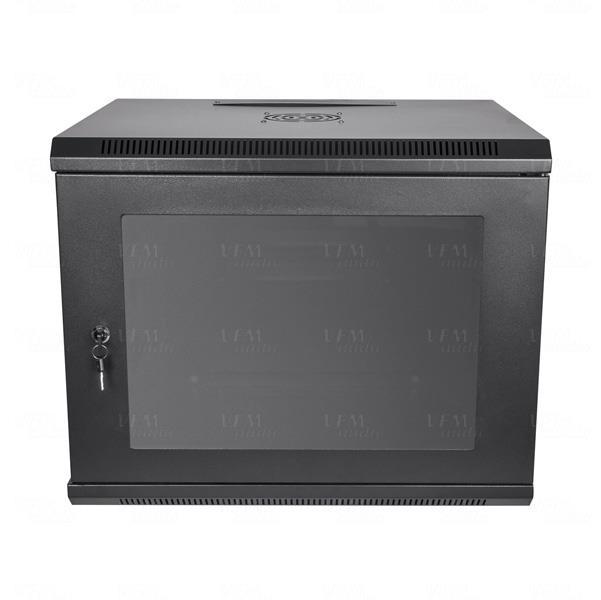 Titan Av Premium 19 9ru Wall Mount Server Rack Data Cabinet 500mm Deep Ebay