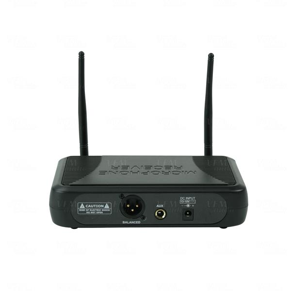 Titan AV UHF Wireless Microphone System Single Lapel 8