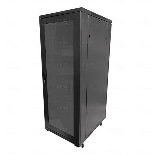 "Deep Kitchen Cabinet Solutions: Titan AV Premium 19"" 32RU Floor Standing Server Rack"